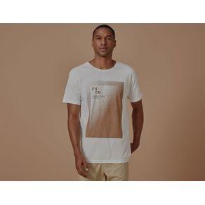 T-Shirt Pixel Fxtn Clara Branco - P