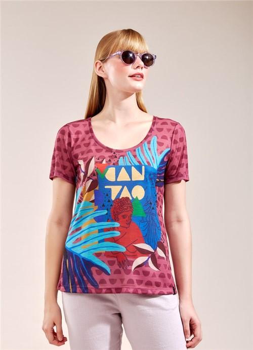 T-Shirt Pop Art ROXO G