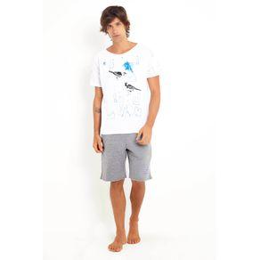 T-shirt Rabisco Bro Branco/g