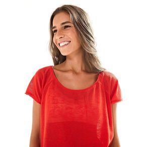 T-Shirt Raglan Vermelho Hindu - P