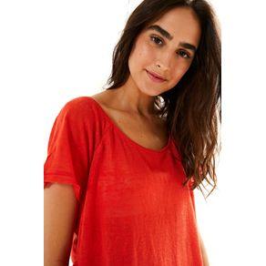 T-Shirt Raglan Vermelho Hindu - M