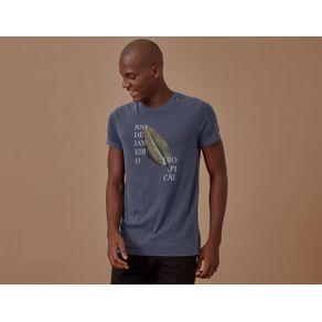T-Shirt Rio Tropical Marinho - P