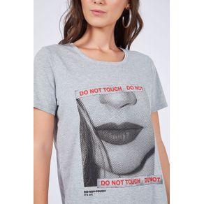 T- Shirt Silk Face Mescla - G