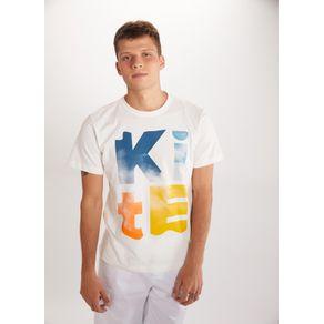 T-shirt Silk Kite Branco Gg
