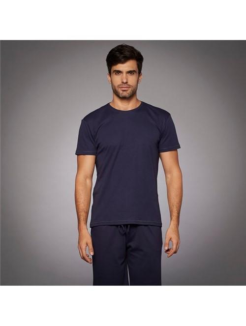 T-shirt Skin Azul Noturno Tamanho P