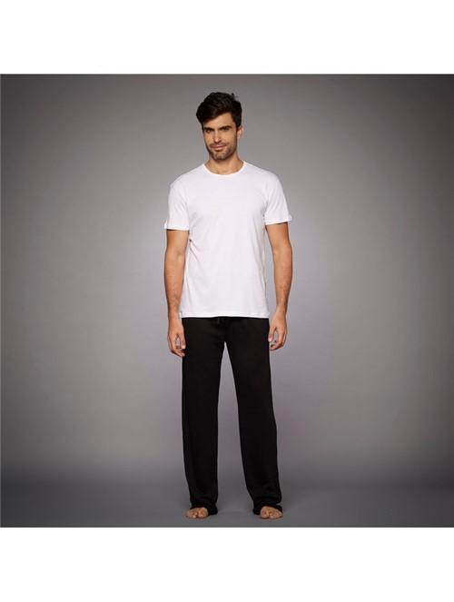 T-shirt Skin Branca Tamanho P