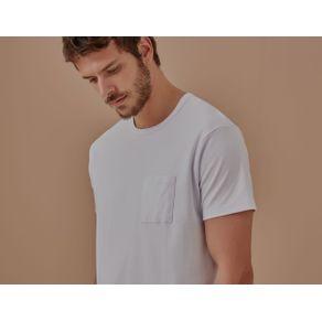 T-Shirt Suedi Pima Branco - G