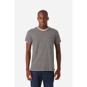 T-Shirt Suedine Listrada Preto - P