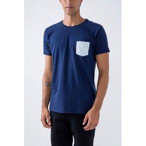 T-Shirt Surf 24 Hrs Azul Marinho - M