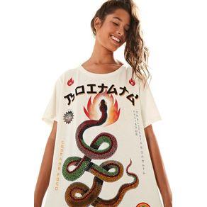 T-Shirt Silk Boitata Off White - G