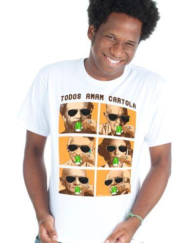 T-shirt Todos Amam Cartola