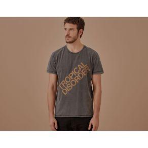 T-Shirt Tropical Disorder Preto - P