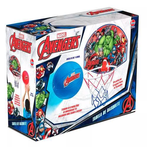 Tabela de Basquete Avengers - Lider Brinquedos