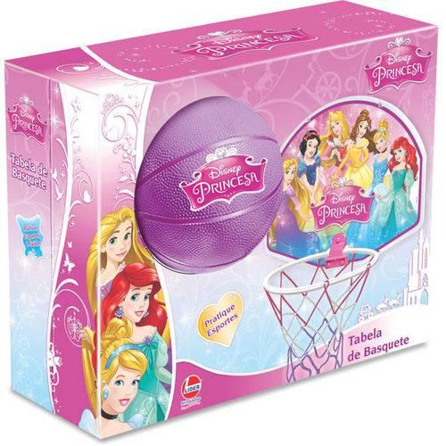 Tabela de Basquete Princesas Tabela+Bola