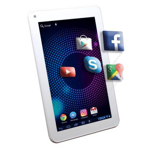 "Tablet Dazz T 7.0"" Q Core 1gb 6919-7 - Wifi Android 6.0 8gb Branco"