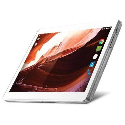 "Tablet M10a Branco Qc Android 7.0 Dual Câmera 3g Bt Tela 10"" Nb254"