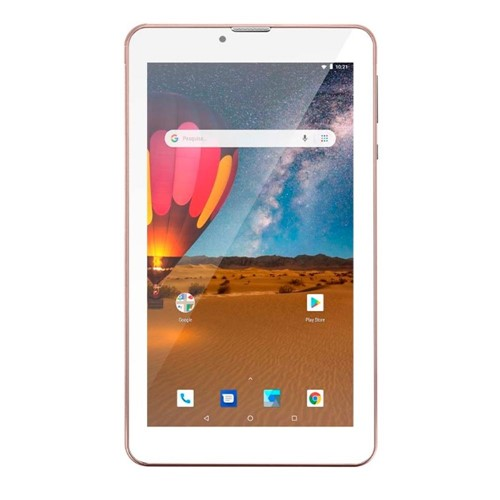 Tablet M7 3G Plus Dual Chip Quad Core 1 GB de Ram Memória 16 GB Tela 7 Polegadas Rosa NB305-Multilaser