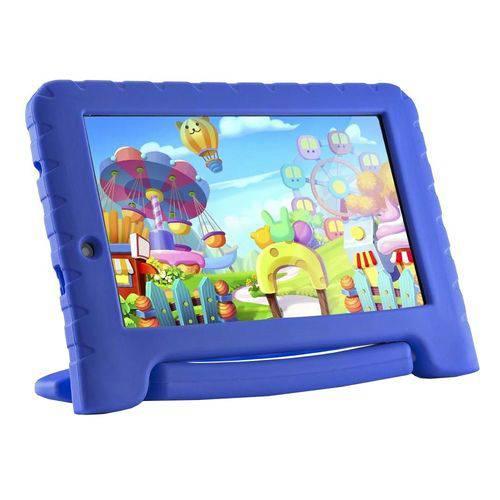 """Tablet Multilaser Kid Pad Plus 7"""" 8gb Bluetooh Azul Nb278"""