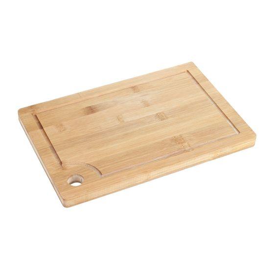 Tábua de Bambu para Corte 30 X 20 X 2 Cm