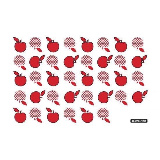 Tábua de Vidro Retangular Vermelho - Tábua de Vidro Retangular 20x30 Vermelho