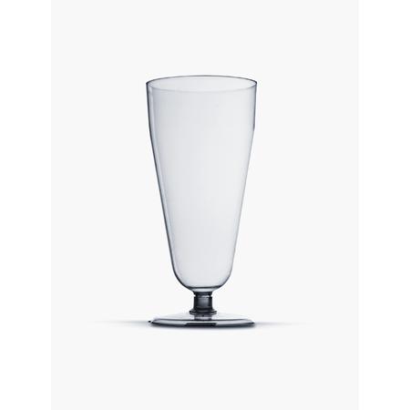 Taça Acrílica Chopp Cristal 290ml Taça Acrílica Descartável P/ Chopp Cristal Base Removível 290ml - 5 Unidades
