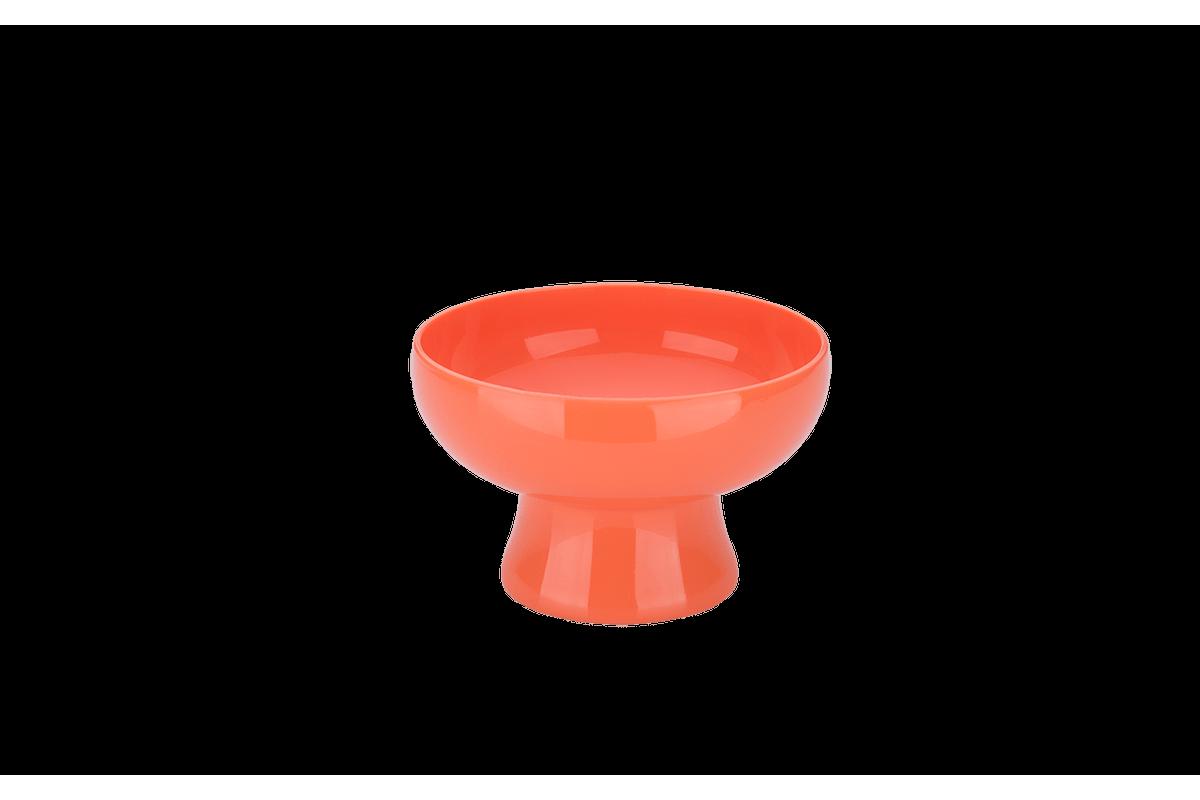 Taça Cake 11,6 X 11,6 X 7,2 Cm 250 Ml Tangerina Coza