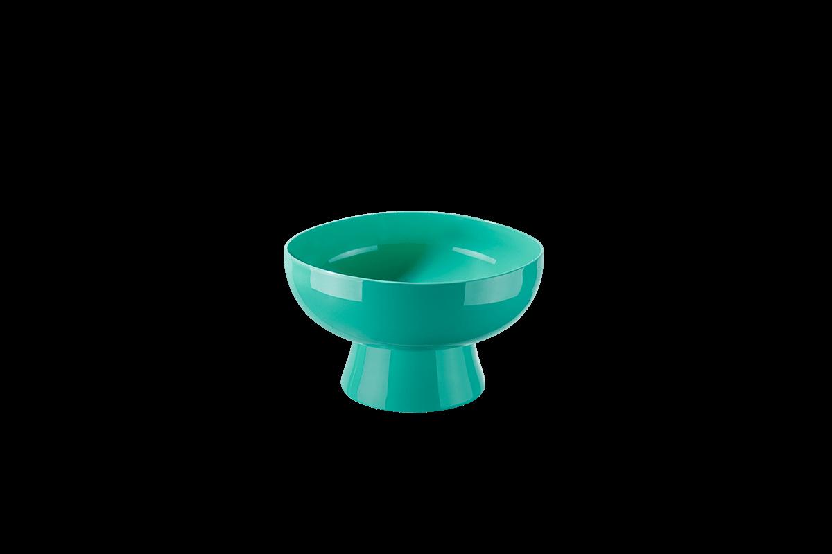 Taça Cake 250 Ml 11,6 X 11,6 X 7,2 Cm 250 Ml Verde Coza