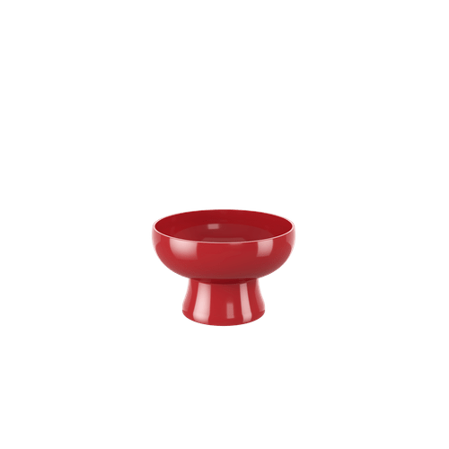 Taça Cake 250 Ml 11,6 X 11,6 X 7,2 Cm 250 Ml Vermelho Bold Coza