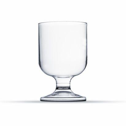Taça de Acrílico Pit 50ml Transparente 10un Plastilânia