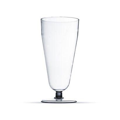 Taça de Acrílico Pit 290ml Transparente 5un Plastilânia