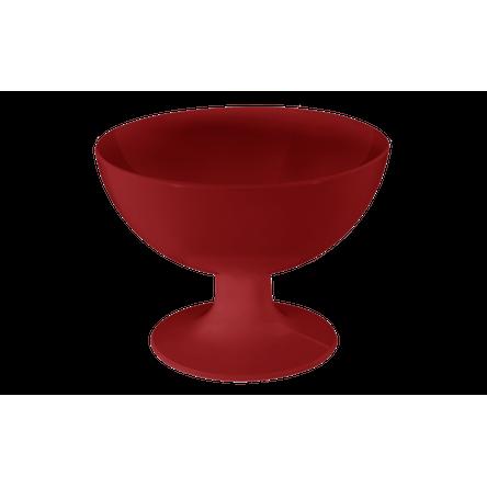 Taça de Sobremesa Cozy 150ml 10,5 X 10,5 X 8 Cm Vermelho Bold Coza