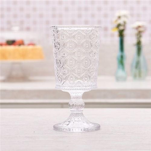 Taça de Vinho Vitoria 240ml Havan Transparente Transparente