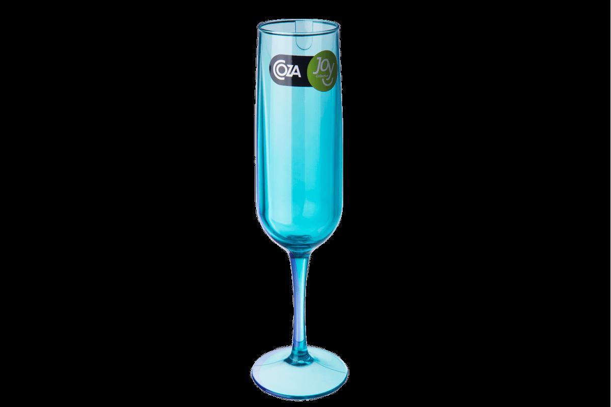 Taça Espumante - Fun 6,1 X 6,1 X 22 Cm 160 Ml Verde Coza