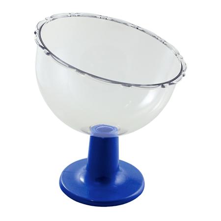 Taça Inclinada Pequena Azul
