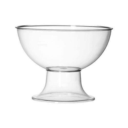 Taça Pequena Acrílico Cristal 2,4L - Três Triângulos