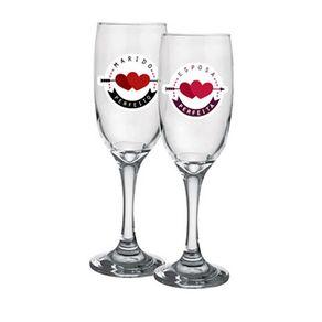 Taças Marido e Esposa Perfeitos - 2 Taças