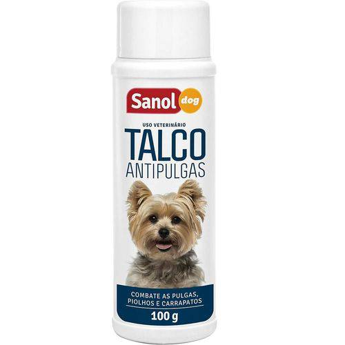 Talco Antipulgas para Cachorro Sanol Dog