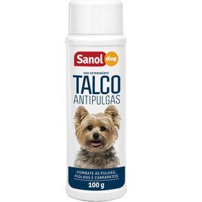 Talco Antipulgas Sanol Dog 100g