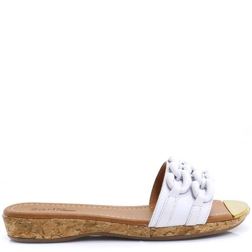 Tamanco Zariff Shoes Casual Branco