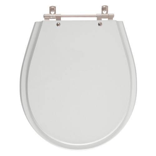 Assento Sanitário Avalon Sterling Silver para Louça Ideal Standard