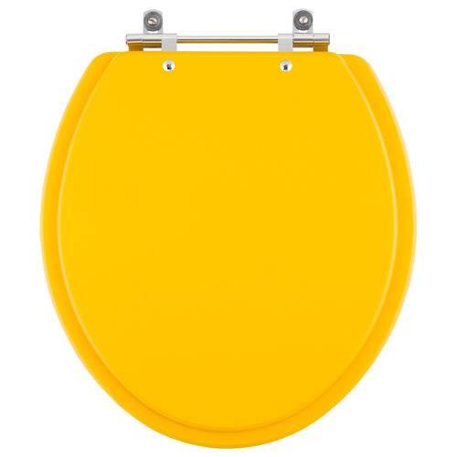 Tampa de Vaso Convencional/Oval Amarelo Vivo para Bacia de Todos os Fabricantes de Louças