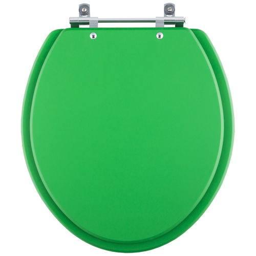 Tampa de Vaso Convencional/Oval Verde Vivo para Bacia de Todos os Fabricantes de Louças