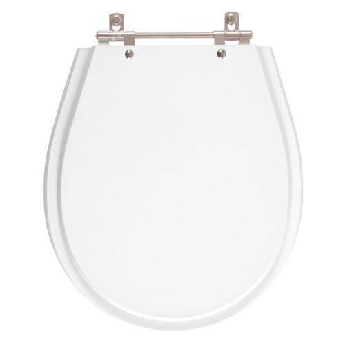 Tampa de Vaso Poliester Avalon Branco para Bacia Ideal Standard