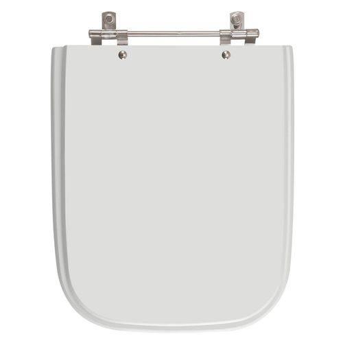 Tampa de Vaso Poliester Tivoli Cinza Claro para Bacia Ideal Standard