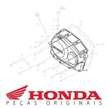 Tampa Lateral do Motor Honda CRF 230 Lado Direito