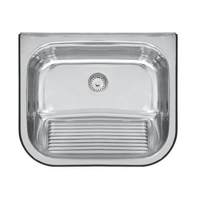Tanque de Parede em Aço Inox Polido 55x45 Cm Tramontina 94401407