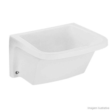 Tanque Lavar Roupa 47 Litros Branco Celite