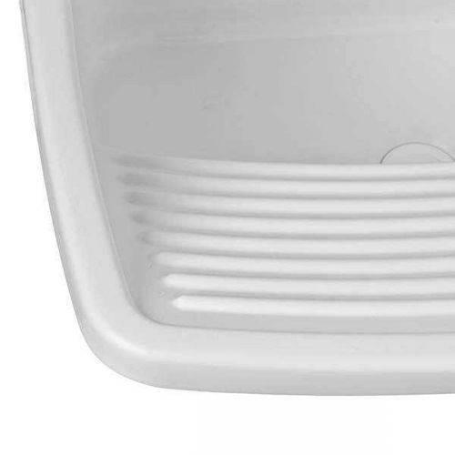 Tanque Plastico Astra Tq2 58 X 52 X 32cm 24lt Branco