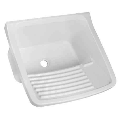 Tanque Simples para Lavar Roupas 20L Astra Branco