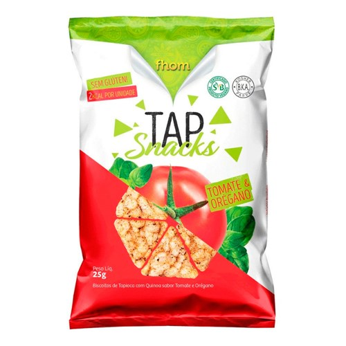 Tap Snack Tomate e Orégano Fhom 25g